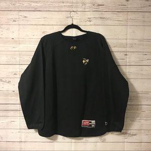 Rawlings Yellow Jackets Pullover Shirt Large (D)